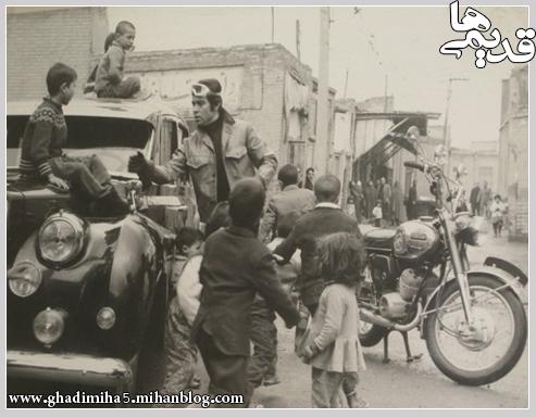 عکس بهروز وثوقی در فیلم رضا موتوری